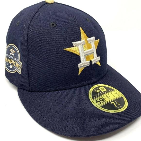 purchase cheap 068cf dc34e New Era 59FIFTY Houston Astros World Series Hat NWT